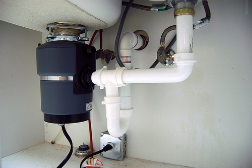 Kitchen Sink Plumbing With Garbage Disposal