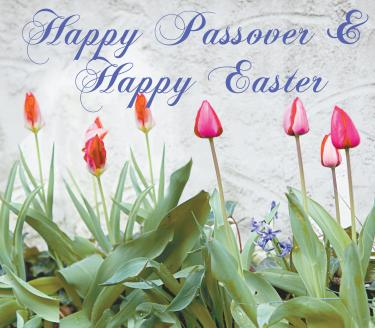 Wishing All Of Our Customers A Very Happy Passover And Easter