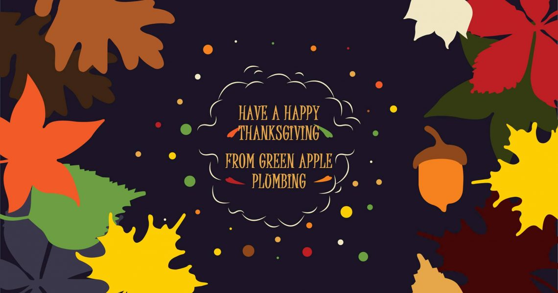 Happy Thanksgiving From Green Apple Plumbing & Mechanical NJ!
