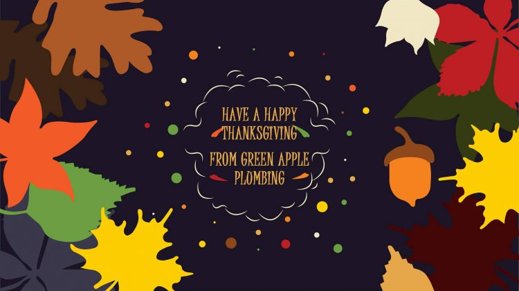 We would like to wish all of our customers a very happy and healthy Thanksgiving holiday from your Friends at Green Apple Mechanical. And remember don't put turkey bones down the garbage disposal!