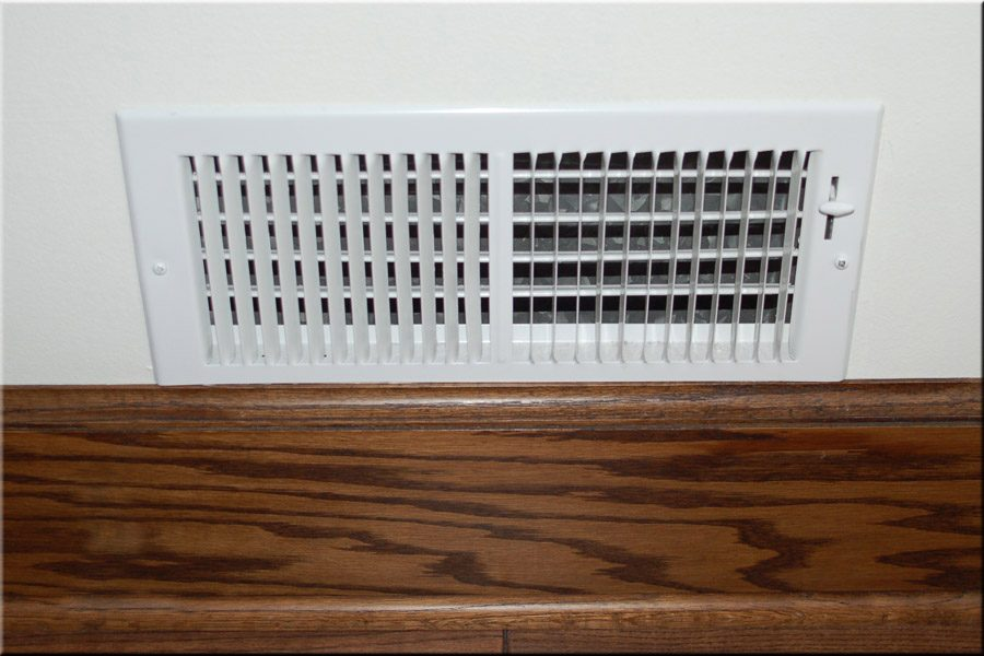 Are Your Heating Vents & Registers Clear?